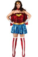 Deluxe Wonder Woman Plus Size Costume