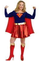 Deluxe Supergirl Plus Size Costume