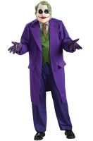 The Dark Knight Deluxe The Joker Plus Size Costume
