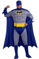 Batman Deluxe Muscle Chest Batman Plus Size Costume