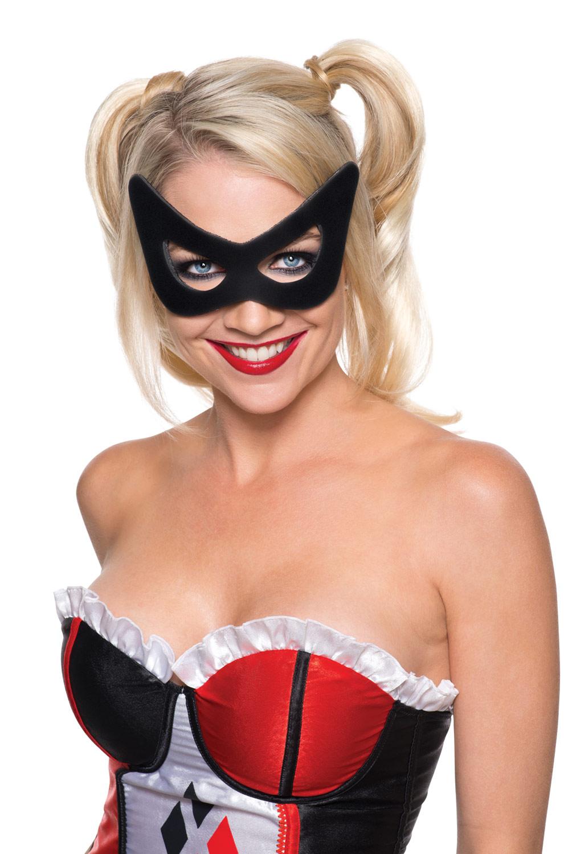 DC Comics Harley Quinn Costume Mask - eBay