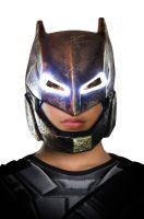 BvS Armored Batman Light-Up Child Mask