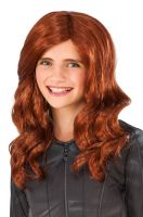 Civil War Black Widow Child Wig