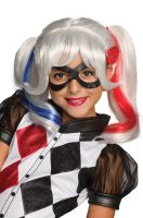 DC Super Hero Girls Harley Quinn Child Wig