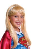 DC Super Hero Girls Supergirl Child Wig
