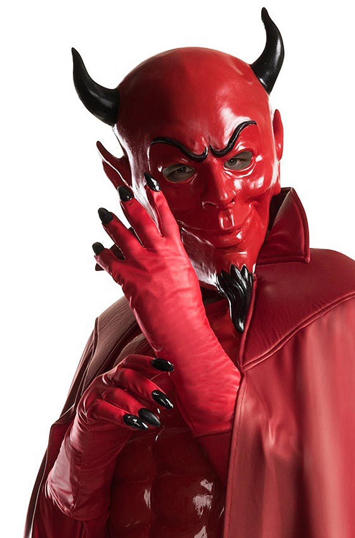 Red Devil Adult Gloves Purecostumes Com