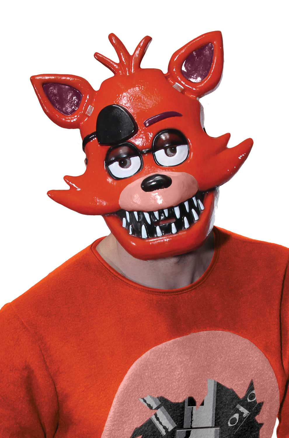 Dress up five nights at freedys - Five Nights At Freddy S Foxy Adult 1 2 Mask