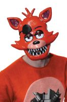 Five Nights at Freddy's Foxy Adult 1/2 Mask