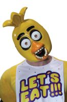 Five Nights at Freddy's Chica Adult 1/2 Mask