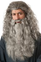 The Hobbit Gandalf Beard Costume Wig Kit
