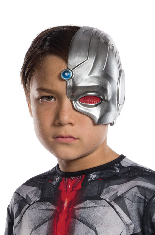 Jl Cyborg Child 1 2 Mask Purecostumes Com