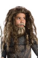 Aquaman Movie Child Beard & Wig