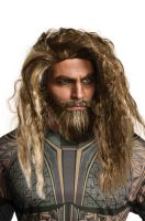 Aquaman Movie Adult Beard & Wig