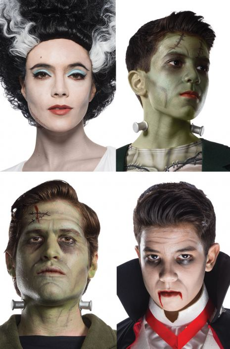 Deluxe Universal Monsters Make Up Kit Purecostumes Com