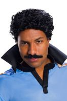 Lando Calrissian Adult Wig and Moustache