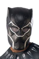Black Panther 1/2 Mask (Adult)