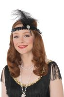 Jeweled Flapper Headband