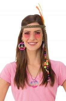 Deluxe Hippie Kit  sc 1 st  Pure Costumes & Hippie Costumes - PureCostumes.com
