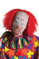 Scary Clown Mask and Wig