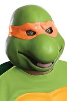 Michelangelo Adult Vinyl Mask