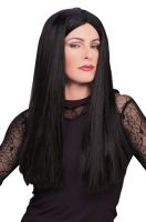 Morticia Addams Adult Wig