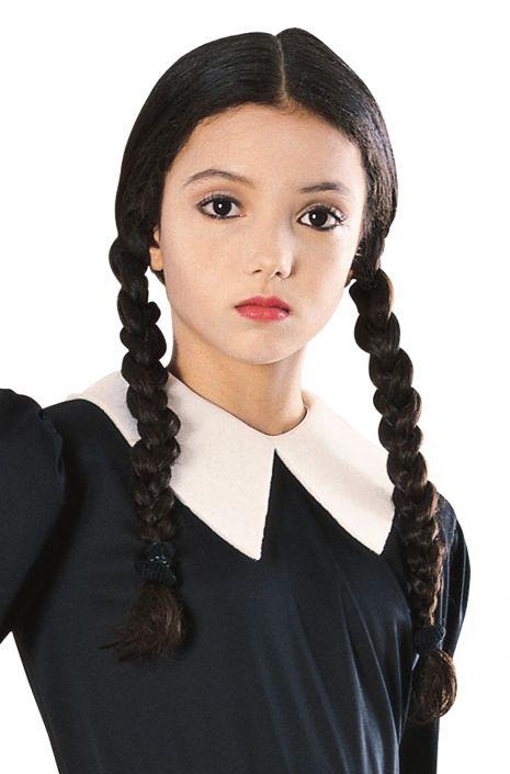 wednesday addams child wig purecostumes com