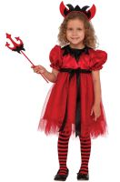 Pretty Devilish Child Costume