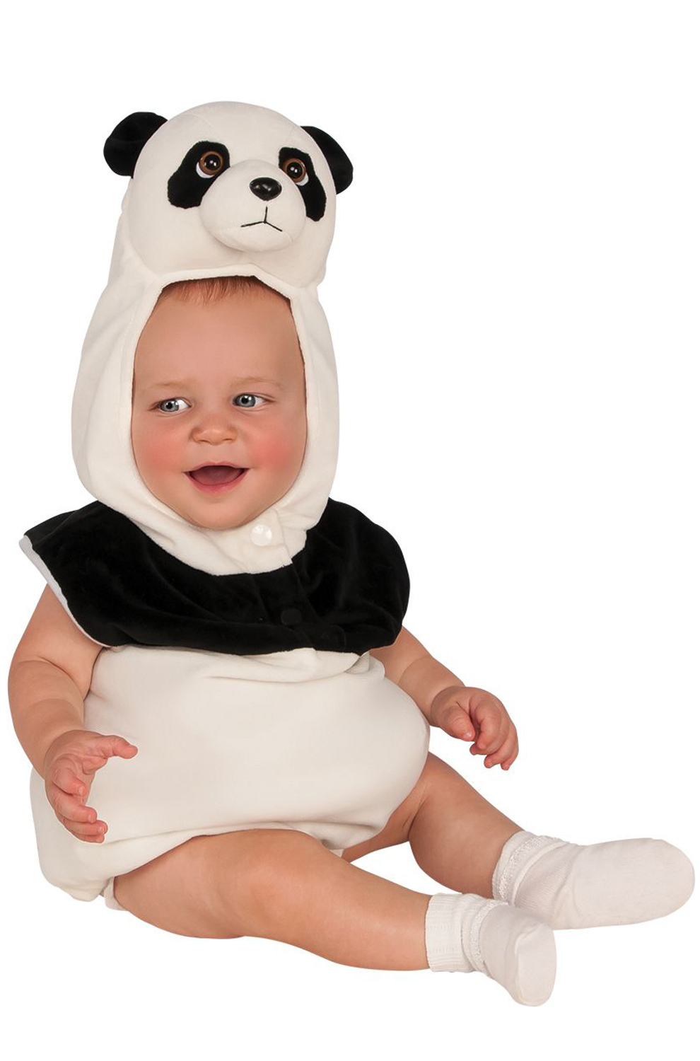 This playful, two-piece design boasts tons of jungle-inspired flair and makes dressing up as a baby panda all the more whimsical. Plus, the ultra-comfy fabric will feel soft and breathable on their skin.