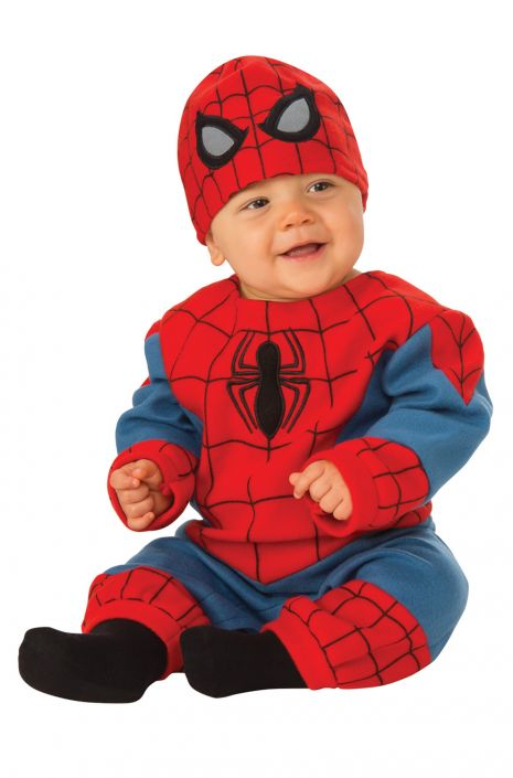 Spider-Man Romper Infant Costume  sc 1 st  Pure Costumes & Spider-Man Romper Infant Costume - PureCostumes.com