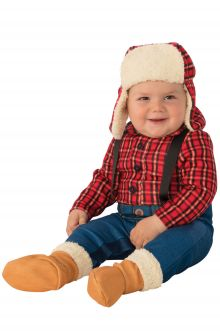 aed4d5d758233a Little Lumberjack Infant/Toddler Costume Sc 1 St Pure Costumes. image  number 29 of newborn superhero costumes ...
