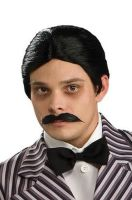 Gomez Addams Wig and Moustache