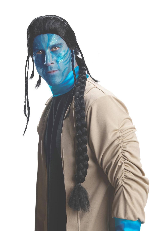 Avatar Jake Sully Adult Costume Wig - Purecostumescom-1800
