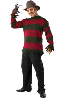 Freddy Deluxe Knit Sweater Adult Costume Our Favorite Horror Movie Costumes