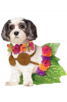 2017 New Costume Picks Hula Girl Pet Costume