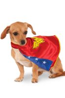 Wonder Woman Cape Pet Costume