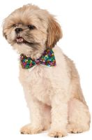 Rainbow Sequins Bowtie Pet Accessory