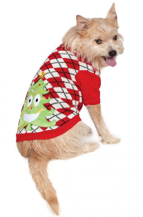 f8d9acab9f0 X-Mas Tree Sweater Big Dog Pet Costume - PureCostumes.com