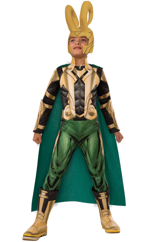 deluxe loki child costume purecostumescom