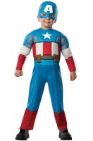 Deluxe Captain America Toddler Costume