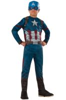 Civil War Captain America Child Costume