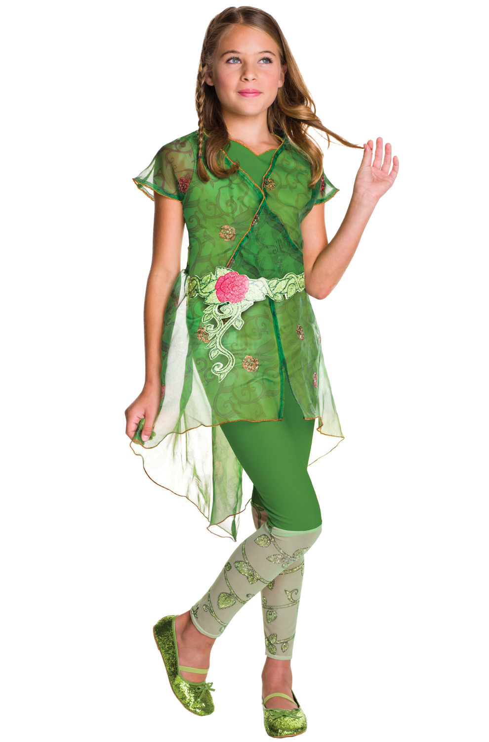 DC Super Hero Girls Deluxe Poison Ivy Child Costume