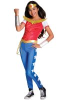 DC Super Hero Girls Deluxe Wonder Woman Child Costume