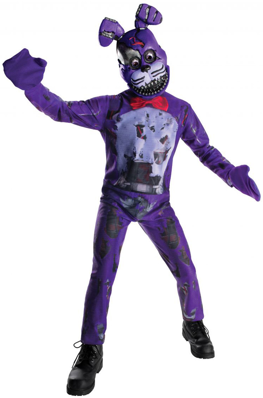 Fnaf Nightmare Bonnie Child Costume Purecostumes Com