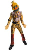 FNAF Nightmare Chica Child Costume