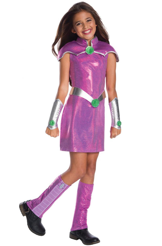 DC Super Hero Girls Deluxe Starfire Child Costume