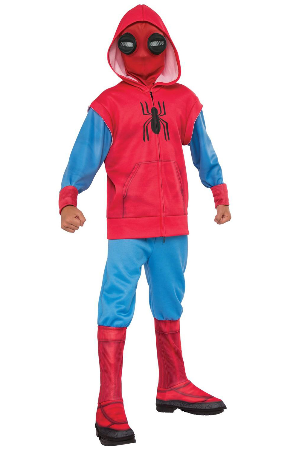 Deluxe Spider Man Homemade Suit Child Costume