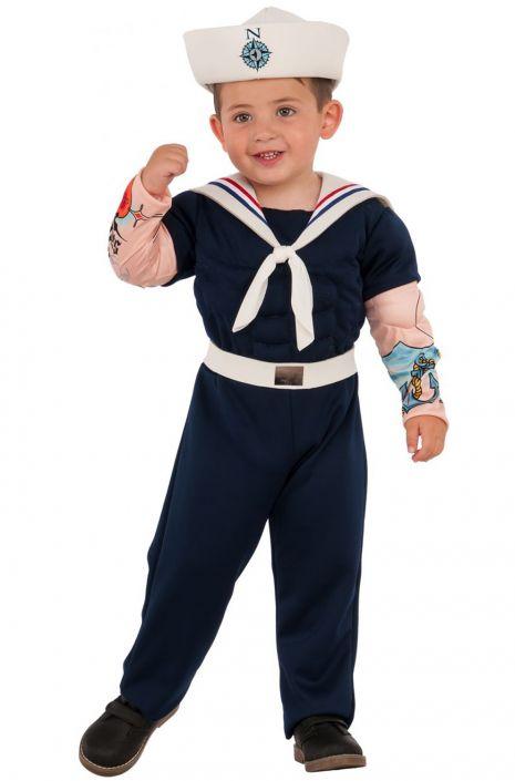 Muscle Man Sailor Child Costume  sc 1 st  Pure Costumes & Muscle Man Sailor Child Costume - PureCostumes.com