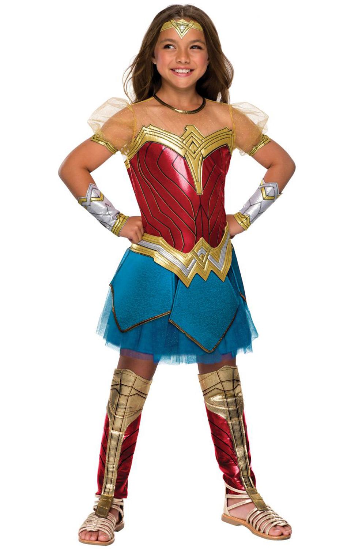 JL Premium Wonder Woman Child Costume - PureCostumes.com
