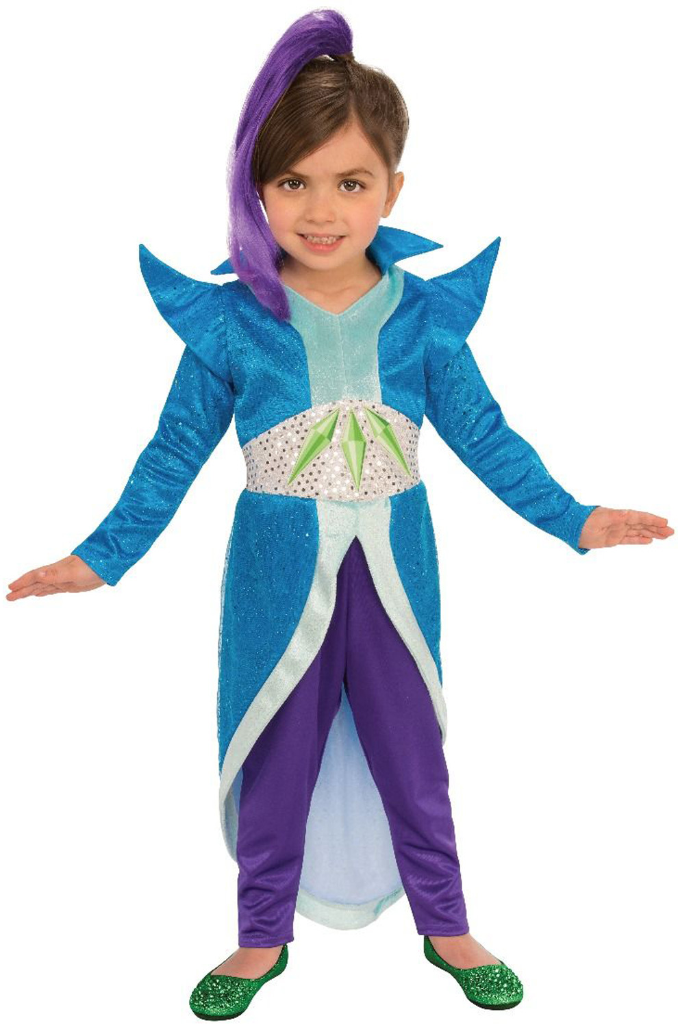 shimmer and shine zeta toddlerchild costume - Toddler Cartoon Characters