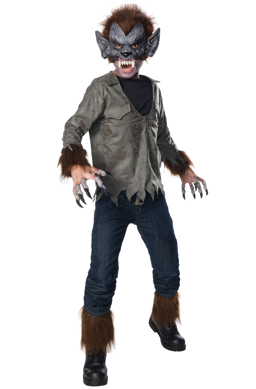 The Wolf Man Child Costume - PureCostumes.com